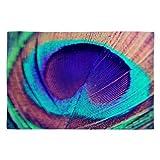Deny Designs Shannon Clark Pretty Peacock Woven Rug 2 x 3 [並行輸入品]