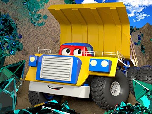 カーシティーのカール・スーパー・トラックとモンスタートラック&鉱山トラック|子供向けトラックアニメ
