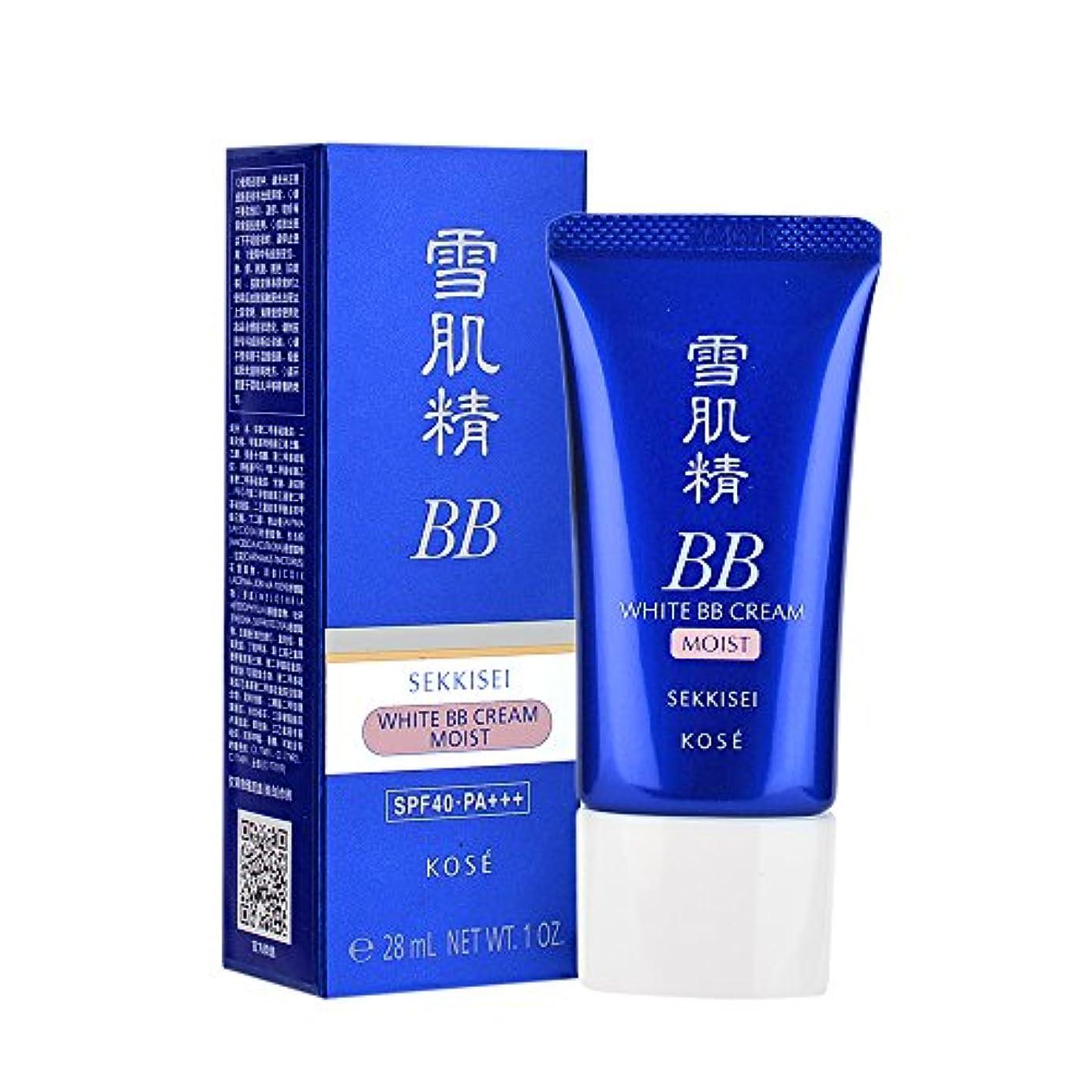終了する判定主婦コーセー Sekkisei White BB Cream Moist SPF40 PA+++ - # 01 Light Ochre 28ml