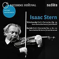 チャイコフスキー&バルトーク : ヴァイオリン協奏曲 (Lucerne Festival ~ Isaac Stern / Tchaikovsky : Violin Concerto, Op.35 | Bartok : Violin Concerto No.2, Sz.112 / Swiss Festival Orchestra , L. Maazel , E. Ansermet) [輸入盤]