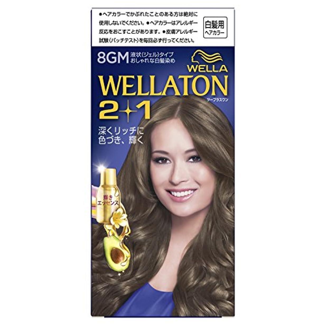 長椅子教科書送金ウエラトーン2+1 液状タイプ 8GM [医薬部外品](おしゃれな白髪染め)