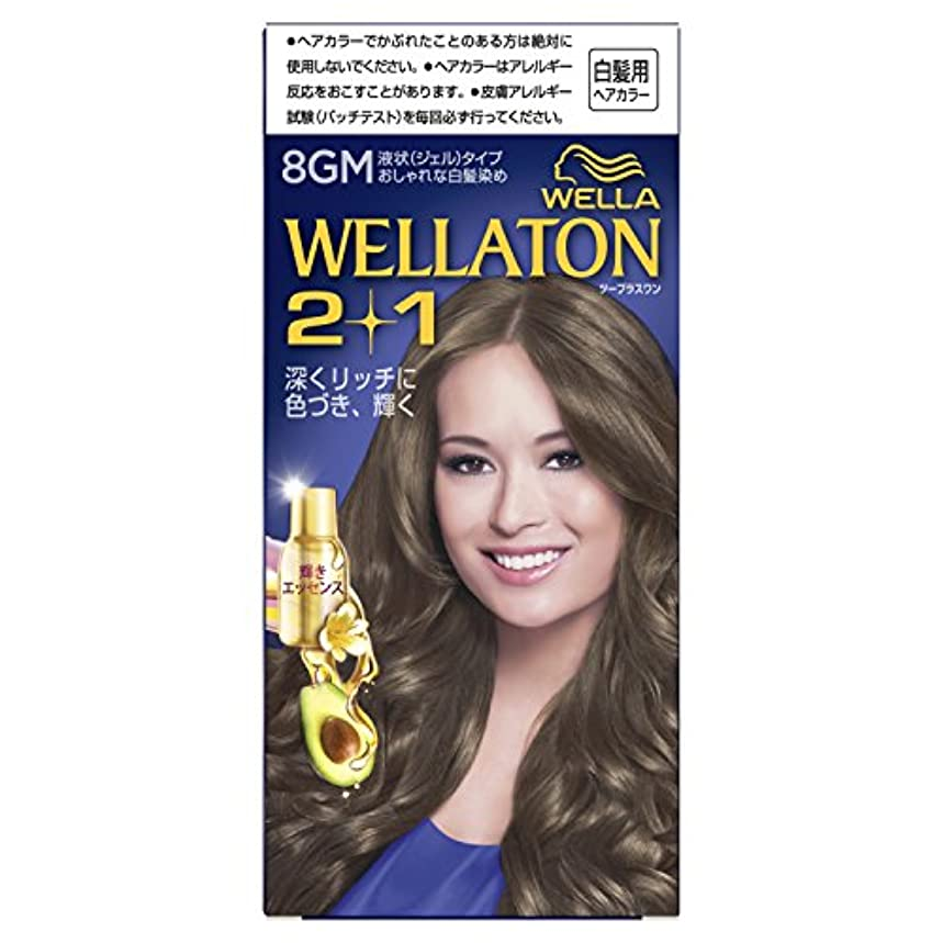 できる傾く広々ウエラトーン2+1 液状タイプ 8GM [医薬部外品](おしゃれな白髪染め)