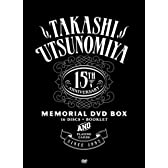 Takashi Utsunomiya 15th Anniversary Memorial DVD-BOX