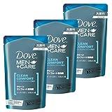 Dove MEN(ダヴメン) ダヴ クリーンコンフォート 泡洗顔 つめかえ用 110ml×3個