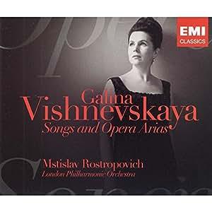 Songs & Opera Arias