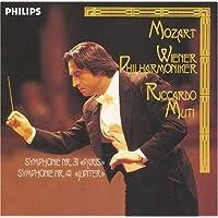 モーツァルト:交響曲第41番「ジュピター」  第31番「パリ」 【SHM-CD】