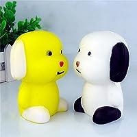 2pc Kawaii子犬犬人形Squishyジャンボ10 cm Slow Rising電話ストラップDIYペンダント動物香りつきKids New Year anti-stressギフト