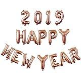 Liankeshop 2019バルーンセット 新年クリスマス Happy New Year 風船 お正月 飾り 卒業デコレーション パーティー用品