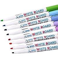 ホワイトボード ペン8カウント、簡単に拭く