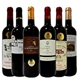 【福袋】 全てボルドー金賞受賞 高樹齢 生産者元詰 贅沢飲み比べ 厳選セレクト 赤ワイン 6本 ワインセット 750ml 6本