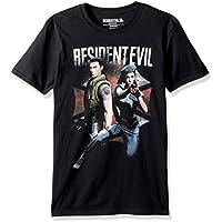 American Classics Unisex-Adult RES524 Resident Evil Chris and Jill Adult Short Sleeve T-Shirt Short Sleeve T-Shirt