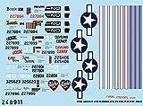 HGWモデルス 1/48 アメリカ軍 P-47D レザーバック 太平洋戦争 プラモデル用デカール HGW248911