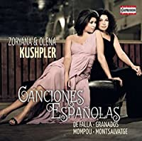Canciones Espanolas [Zoryana Kushpler; Olena Kushpler] [CAPRICCIO: C5193] by Zoryana Kushpler
