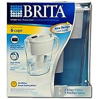 Brita Div of Clorox42364Standard Water Filter Pitcher-1/2GAL SPACESAVR PITCHER (並行輸入品)