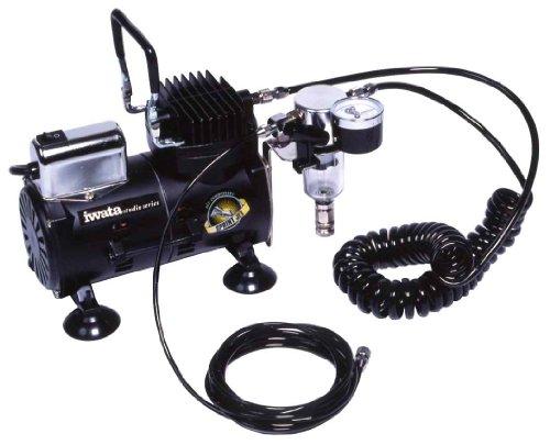 アネスト岩田 オイルフリーミニコンプレッサー IS-800J
