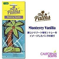 カリフォルニアセンツ パームツリー エアフレッシュナー 【MONTEREY VANILLA】CALIFORNIA SCENTS Palms Hang Out Air Fresheners 芳香剤