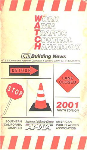 Work Area Traffic Control Handbook: Watch