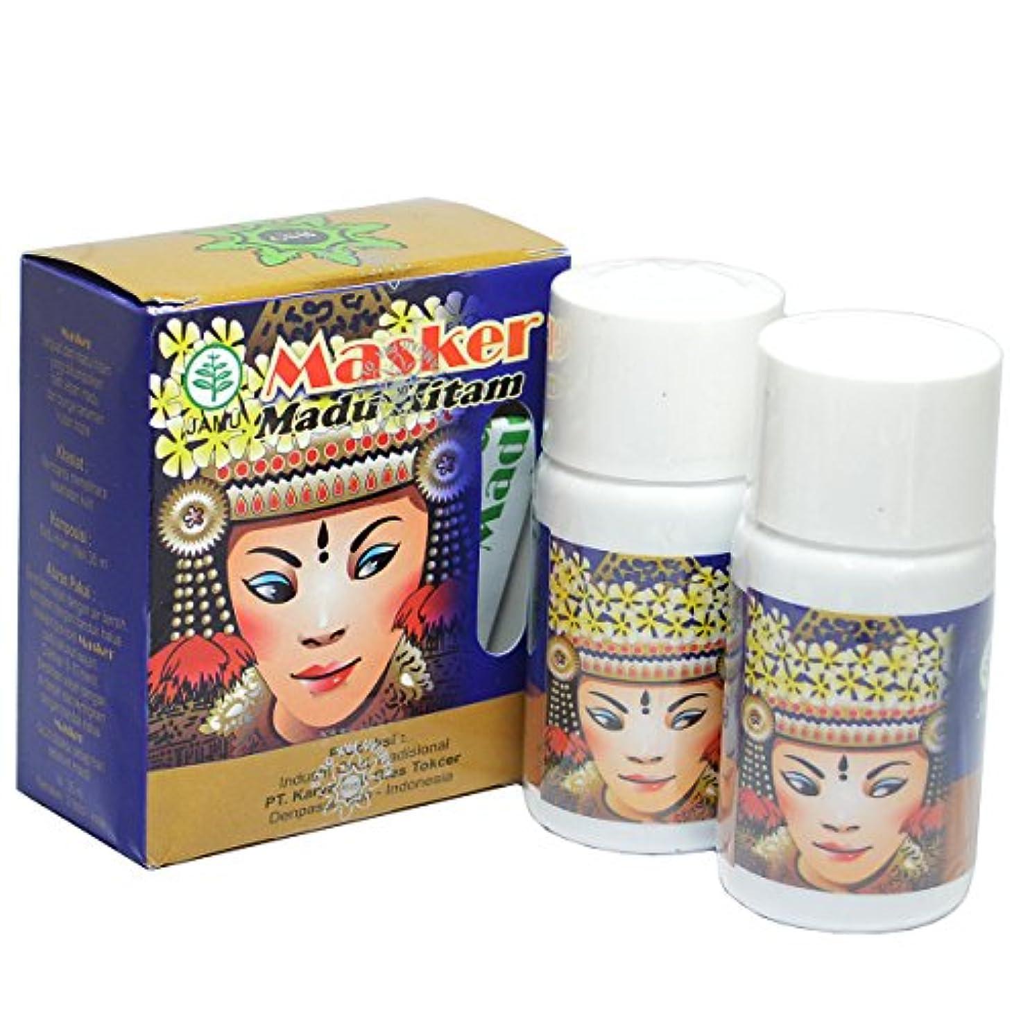 天然黒蜂蜜パック(Masker Madu Hitam)70ml[35ml 2個入][並行輸入品][海外直送品]