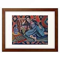 アンリ・マティス Henri Matisse 「Odalisque with a Turkish Chair. 1927-28」 額装アート作品