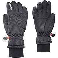 KOMBI (コンビ)26581 The Peak Mens Glove100 Black メンズ グローブ スノーボード スキー サイズ-M