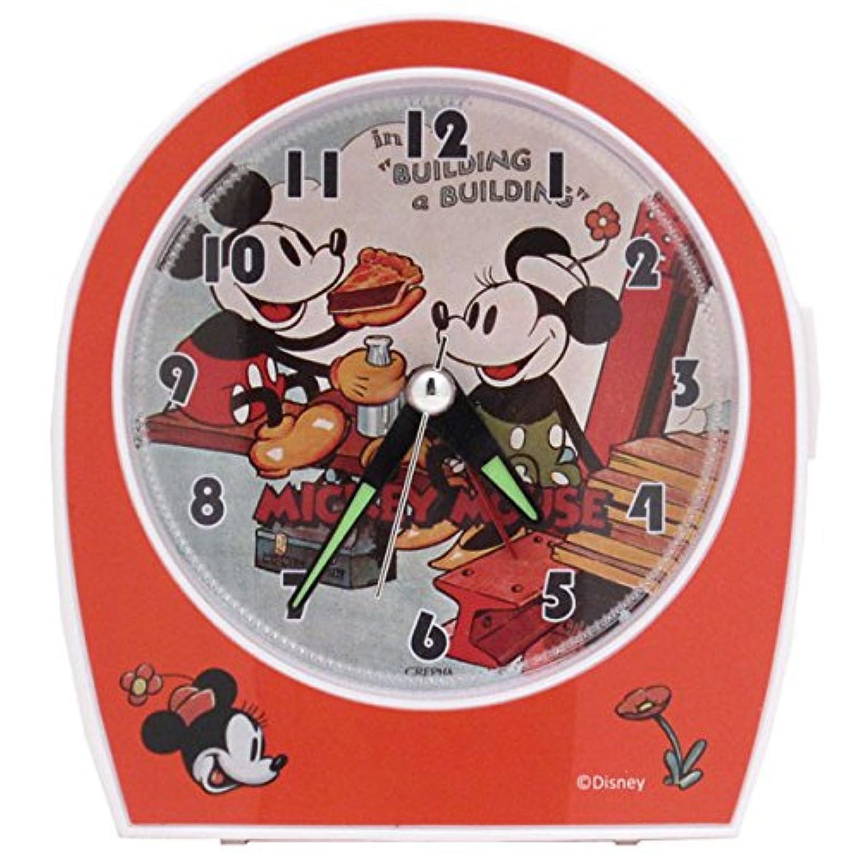 ヴィンテージ アラームクロック (目覚まし時計) クラシック (ミッキーマウス/ミニーマウス) ディズニー (OR)