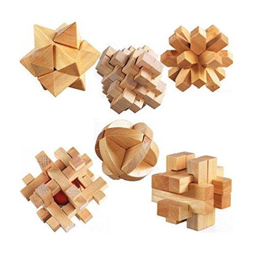 [해외]딸기 사 본점 나무 지적 장난감 교육 ?活 입체 퍼즐 3D 세트 나무 장난감 (공명 퍼즐)/Ichigo-sen Honpo wooden intellectual toy intellectual education brainactivity three-dimensional puzzle 3D group tree toy (Komei puzzle)