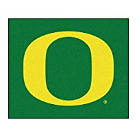 NCAA Oregon Ducks大学Tailgaterマット長方形アウトドアエリアラグ