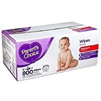 Parent's Choice Fresh Scent Baby Wipes, 800 Sheets by Parent's Choice