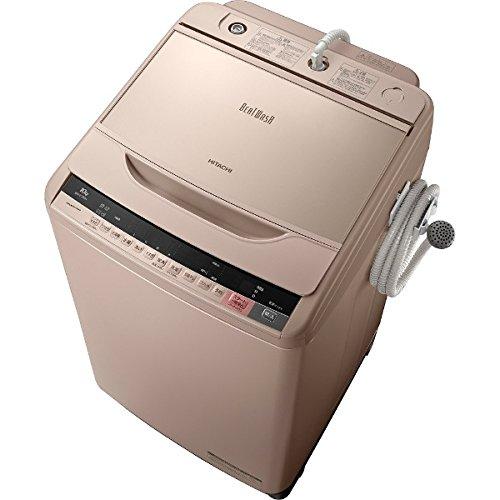 日立 10.0kg 全自動洗濯機 シャンパンHITACHI ビートウォッシュ BW-V100A-N