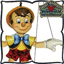 マリオネット  Pinocchio Marionette  【操り人形・木彫り調フィギュア・おもちゃ】 ビンテージ玩具 <ピノキオ> ディズニー・トラディション