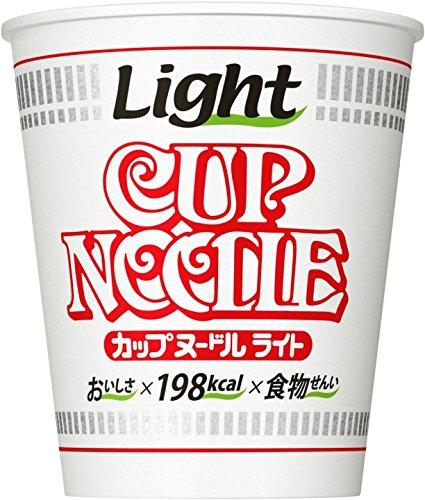 日清 カップヌードル ライト 53g×12個