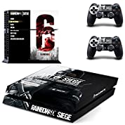 Playstation 4 + 2 Controller Design Sticker Protector Set - Rainbow Six Siege /PS4 by THTB [並行輸入品]