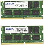 ADS2133N-16GW [SODIMM DDR4 PC4-17000 16GB 2枚組]