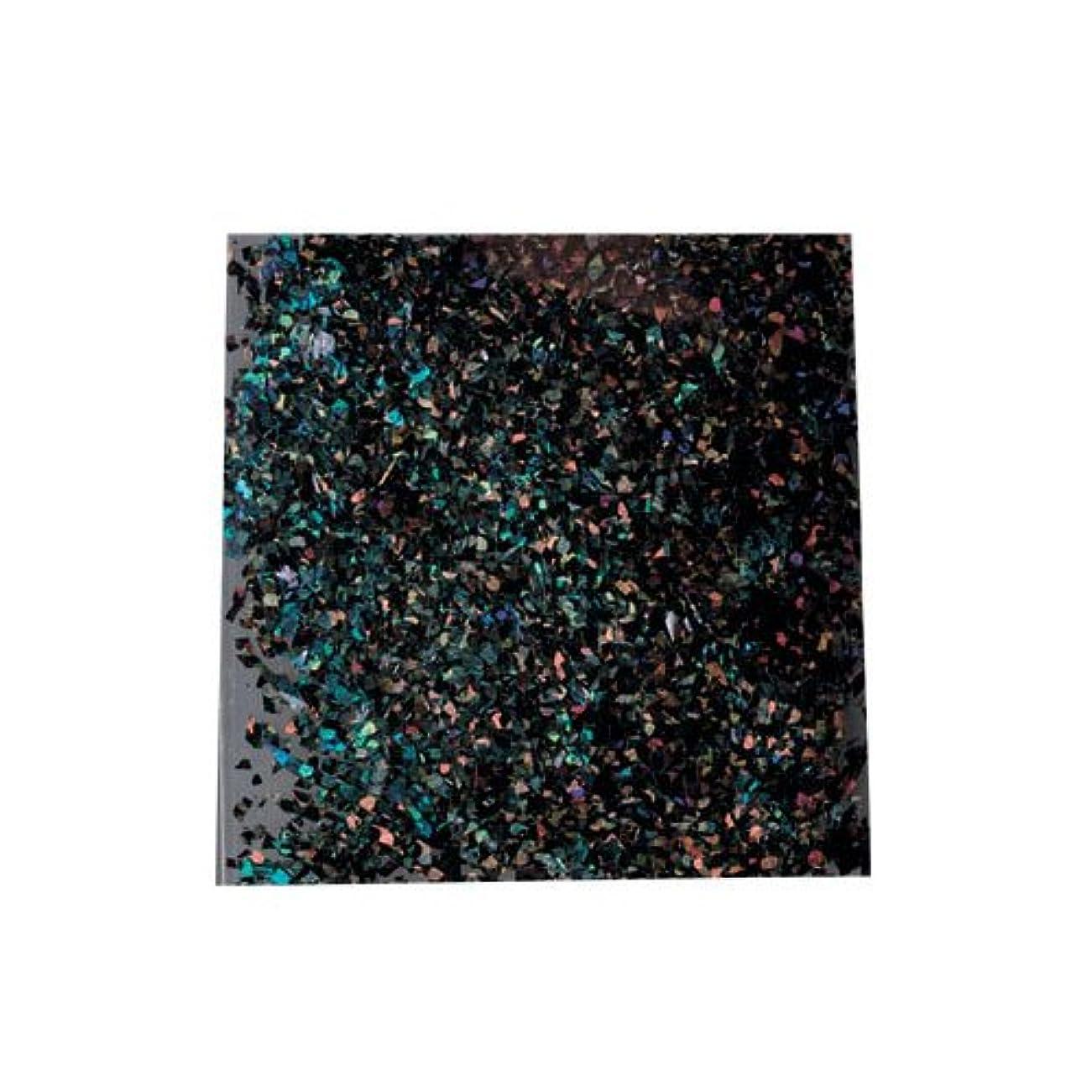 可能にする鎮痛剤衣類ピカエース 乱切ホロ #897 ブラック 0.5g アート材