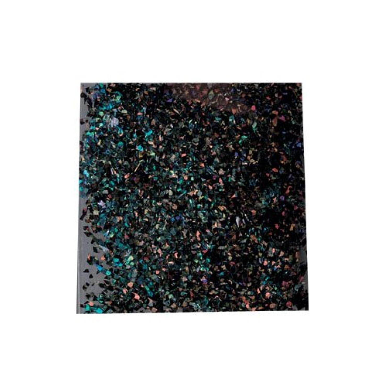 介入するサイレントコンベンションピカエース 乱切ホロ #897 ブラック 0.5g アート材