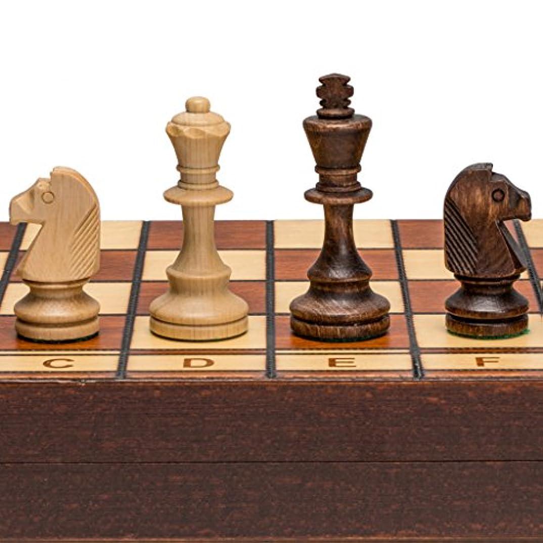 Jowisz Decorative Folding Chess Set