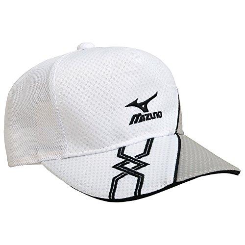 (ミズノ)MIZUNO テニスウェア キャップ [UNISEX] 62JW6002 01 ホワイト F -