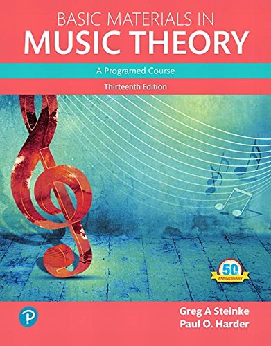 Download Basic Materials in Music Theory: A Programed Course, Books a la Carte (13th Edition) (What's New in Music) 0134419782