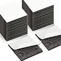 LEOBRO 両面テープ 強力 40個入り 多用途 粘着 はがせる 壁に貼る ポスター 飾り貼りテープ DIYテープ 事務用品 手芸用 ブラック 車用 作業 修理固定用 屋内用