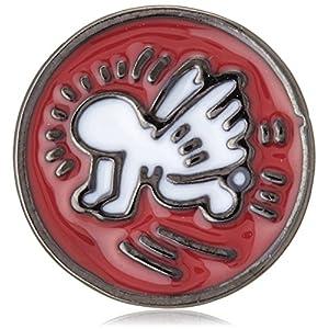 [キース・ヘリング] Keith Haring エンジェルピンブローチ HRMV0002 R0