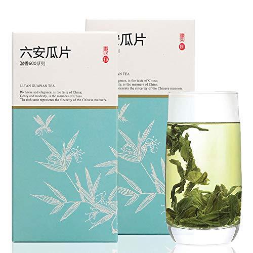 緑茶 茶葉 六安瓜片100g(50g*2) 穀物の雨の前に 100%天然野生栽培 無農薬 無添加