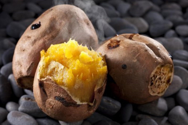 操るどこにも動揺させる石焼き芋の石 お徳用 (無着色/無害)石のさかい