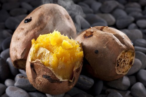 石焼き芋の石 お徳用 (無着色/無害)石のさかい (5 キログラム)