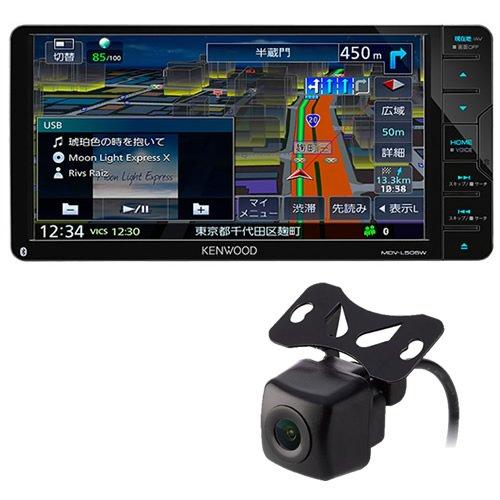 【バックカメラセット】ケンウッド 彩速ナビ MDV-L505W 200mmワイドモデル カーナビ (KENWOOD)