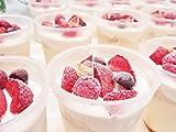 低糖質・糖質制限 プリンアラモード6個入り。人工甘味料不使用。食物繊維入り。