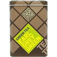 Tea total (ティートータル) / アールグレイ グリーン 100g入り缶 ニュージーランド産 (紅茶 フレーバーティー) 【並行輸入品】