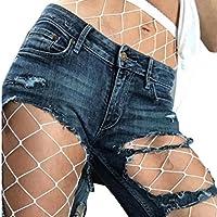 Lookatool Women Hosiery Fishnet Elastic Thigh High Stockings Pantyhose Tights