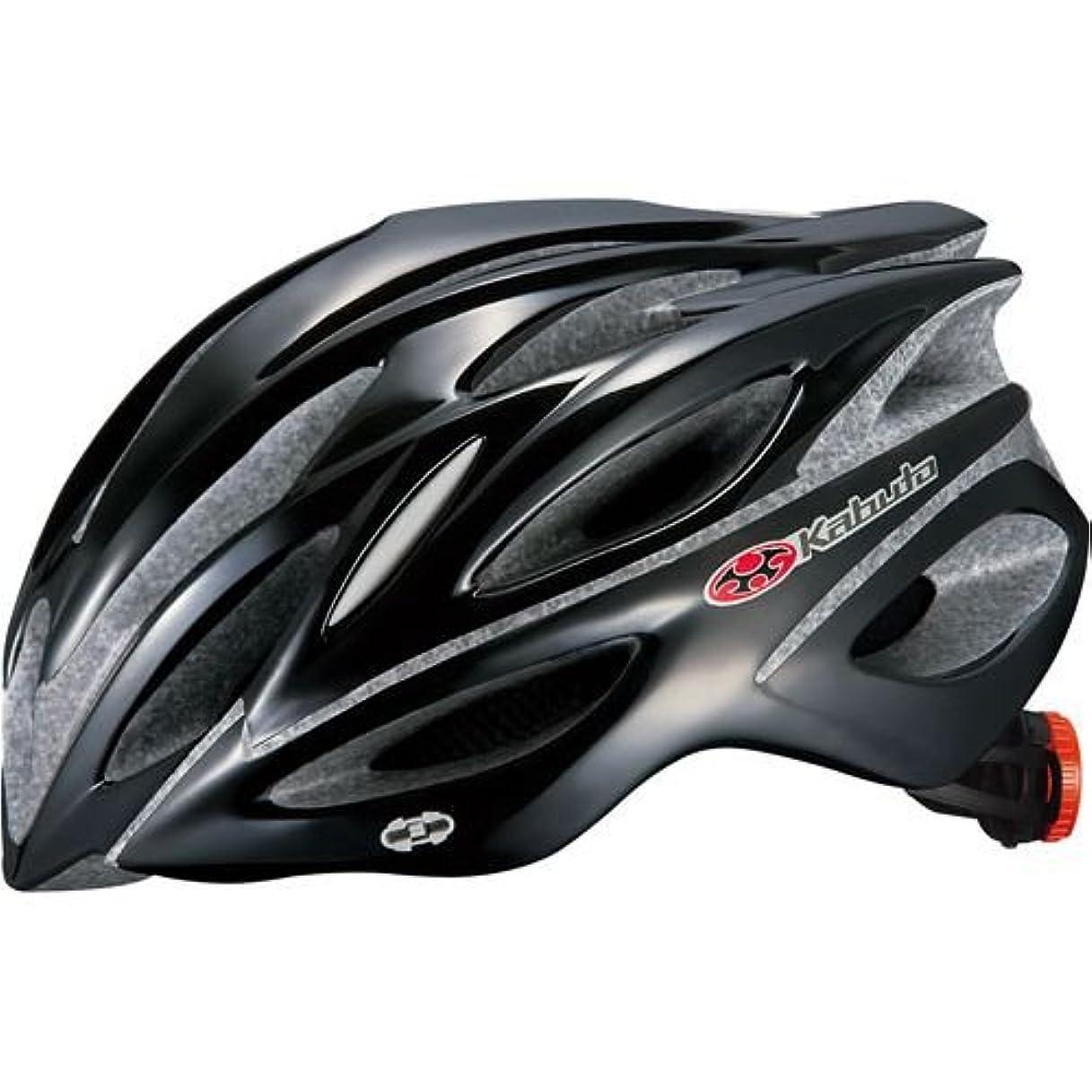 テント孤独な続けるOGK KABUTO(オージーケーカブト) ヘルメット REGAS-2 ブラック M/L (頭囲 57cm~60cm未満)