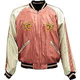 TAILOR TOYO(テーラー東洋)SOUVENIR JACKET(スカジャン)『Dragon × Eagle』TT13838-162 Pink/Navy M