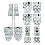 3チップSMD10点アルファード ヴェルファイア 30系 16段階明るさ調節可 ルームランプ LED